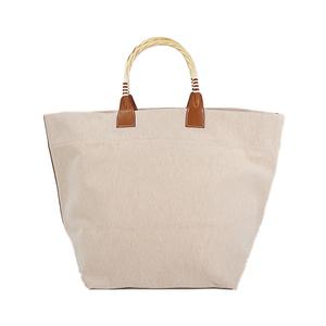 Auth Hermes Steeple Tote Bag □P Beige