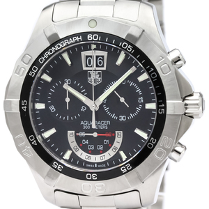 Tag Heuer Aquaracer Quartz Stainless Steel Men's Sports Watch CAF101A