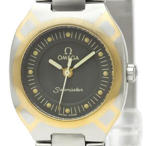Omega Seamaster Quartz Yellow Gold (18K),Stainless Steel Women's Sports Watch 796.1022