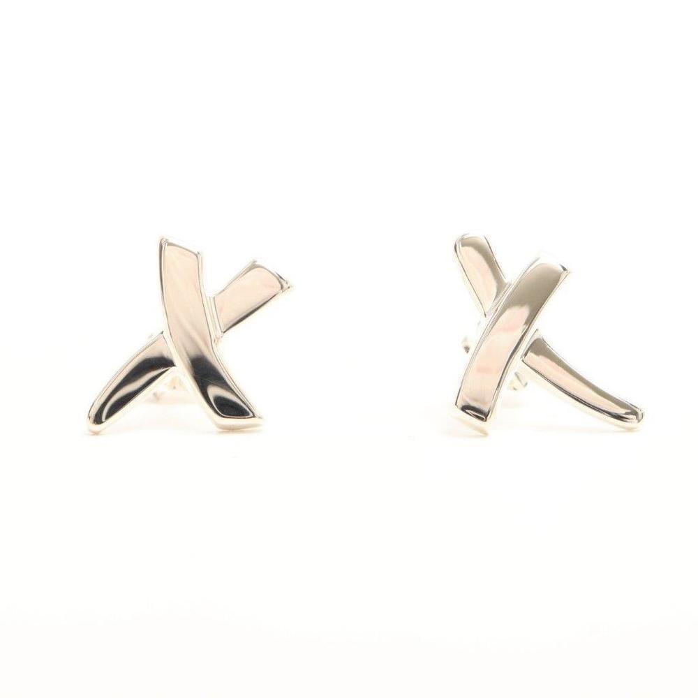 ティファニー(Tiffany) X (キス) パロマ ピカソ グラフィティ X シルバー925 スタッドピアス