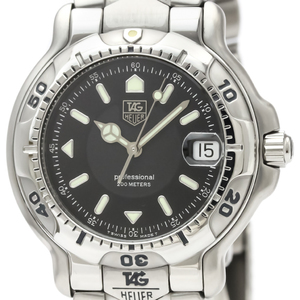 Tag Heuer 6000 Series Quartz Stainless Steel Men's Sports Watch WH1116