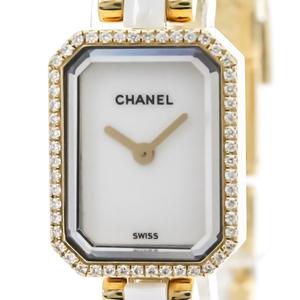 シャネル(Chanel) プルミエール クォーツ K18イエローゴールド(K18YG) レディース ドレスウォッチ H2435