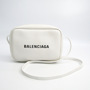 Balenciaga Everyday Camera Bag S 489812 Women's Leather Shoulder Bag White