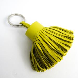 Hermes Carmen Keyring (Yellow)