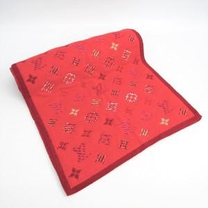 Louis Vuitton Pop Monogram Scarf M70876 Women's Wool Cashmere Scarf Pink