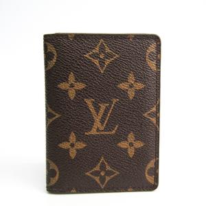 Louis Vuitton Monogram Porto Carte Pass Vertical M66541 Monogram Card Case Monogram