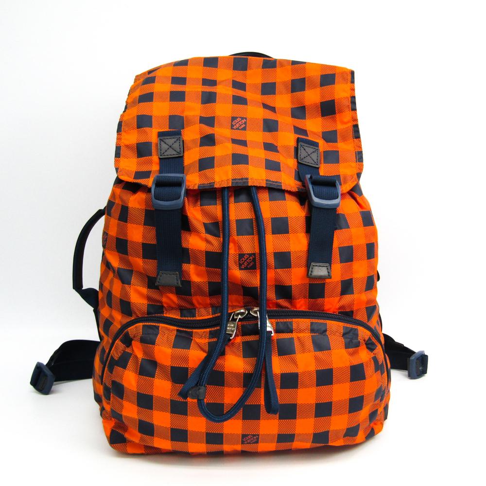 ルイ・ヴィトン(Louis Vuitton) ダミエ・アバンチュール ライトパック N41188 メンズ リュックサック オレンジ