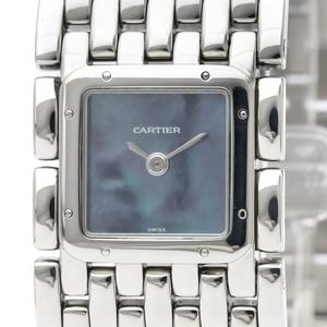 カルティエ(Cartier) リュバン クォーツ ステンレススチール(SS) レディース ドレスウォッチ W61002T9