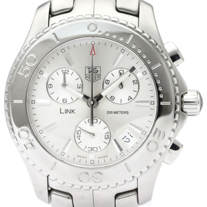 TAG HEUER Link Stainless Steel Quartz Mens Watch WJ1111