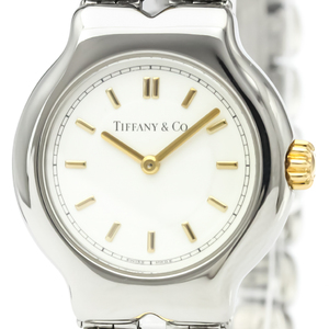 Tiffany Tesoro Quartz Stainless Steel Women's Dress Watch L0112