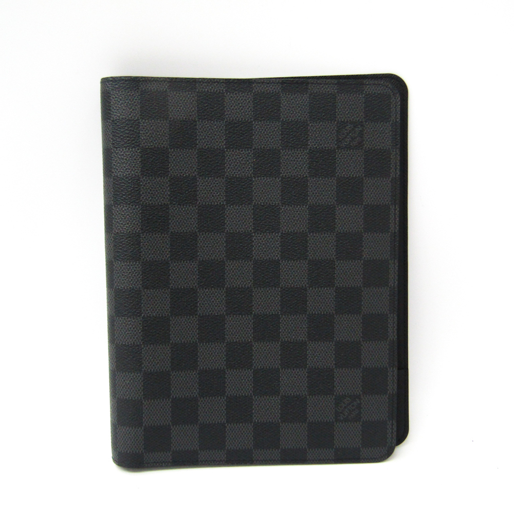 Louis Vuitton Damier Graphite Planner Cover Damier Graphite desk-agenda-cover R20100