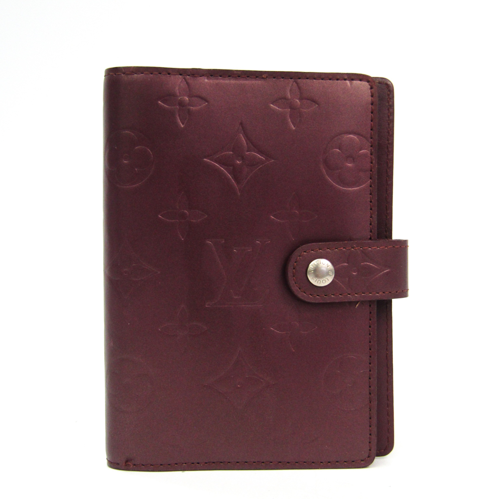 ルイ・ヴィトン(Louis Vuitton) モノグラムマット 手帳 ヴィオレ アジェンダ PM R20936