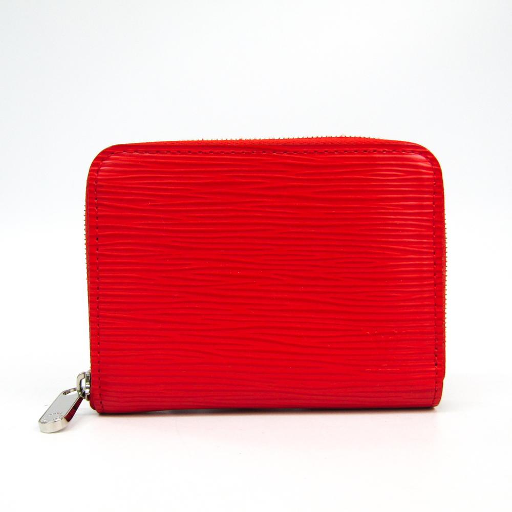 Louis Vuitton Epi Zippy  Coin Purse M60720 Women's Epi Leather Coin Purse/coin Case Coquelicots