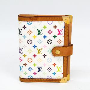 ルイ・ヴィトン(Louis Vuitton) モノグラムマルチカラー 手帳 ブロン アジェンダPM R20896
