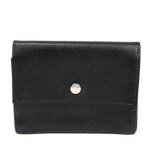 Hermes SAKURA Evercalf Leather Card Case Black