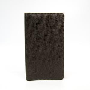 Louis Vuitton Taiga Planner Cover Grizzly Agenda de poche R20430