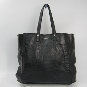 Balenciaga 452236 Leather Tote Bag Black