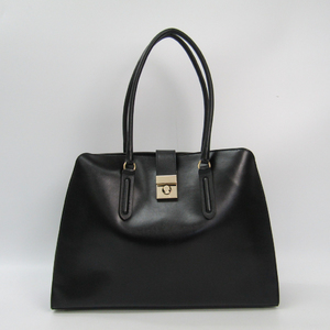 Furla Women's Leather Shoulder Bag Black