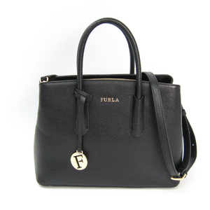 Furla 937627 Women's Leather Handbag Black