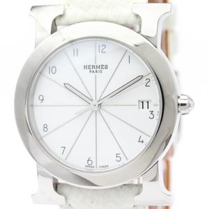 エルメス(Hermes) Hウォッチ クォーツ ステンレススチール(SS) ユニセックス ドレスウォッチ HR1.510