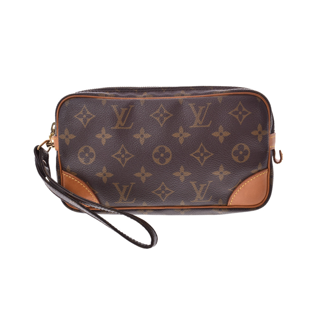 Louis Vuitton Monogram M51827 Men's Bag Brown,Monogram