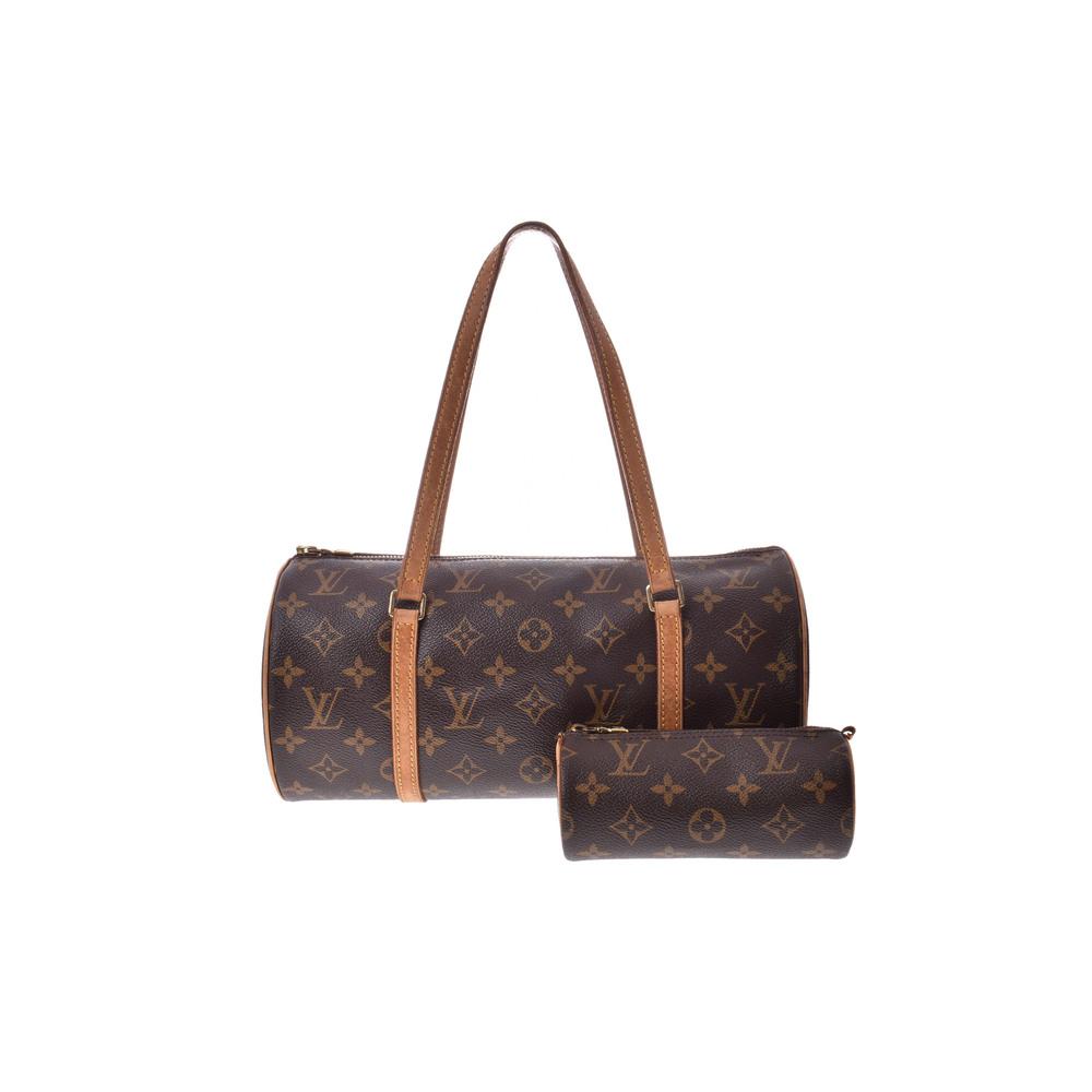 Used Louis Vuitton Monogram Papillon With L Pouch M51385 Ladies' Bag ◇