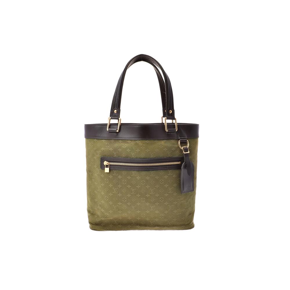 Louis Vuitton Monogram Mini M92681 Women's Handbag Monogram,Khaki