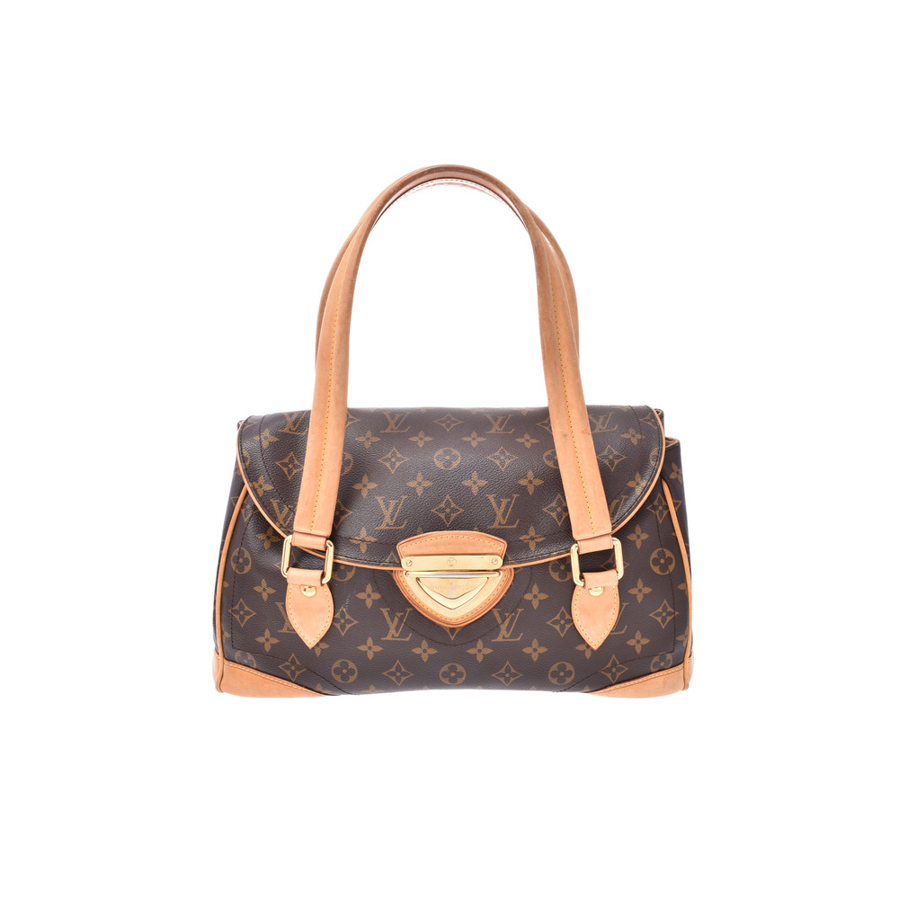 Louis Vuitton Monogram Beverly GM M40120 Women's Shoulder Bag Monogram
