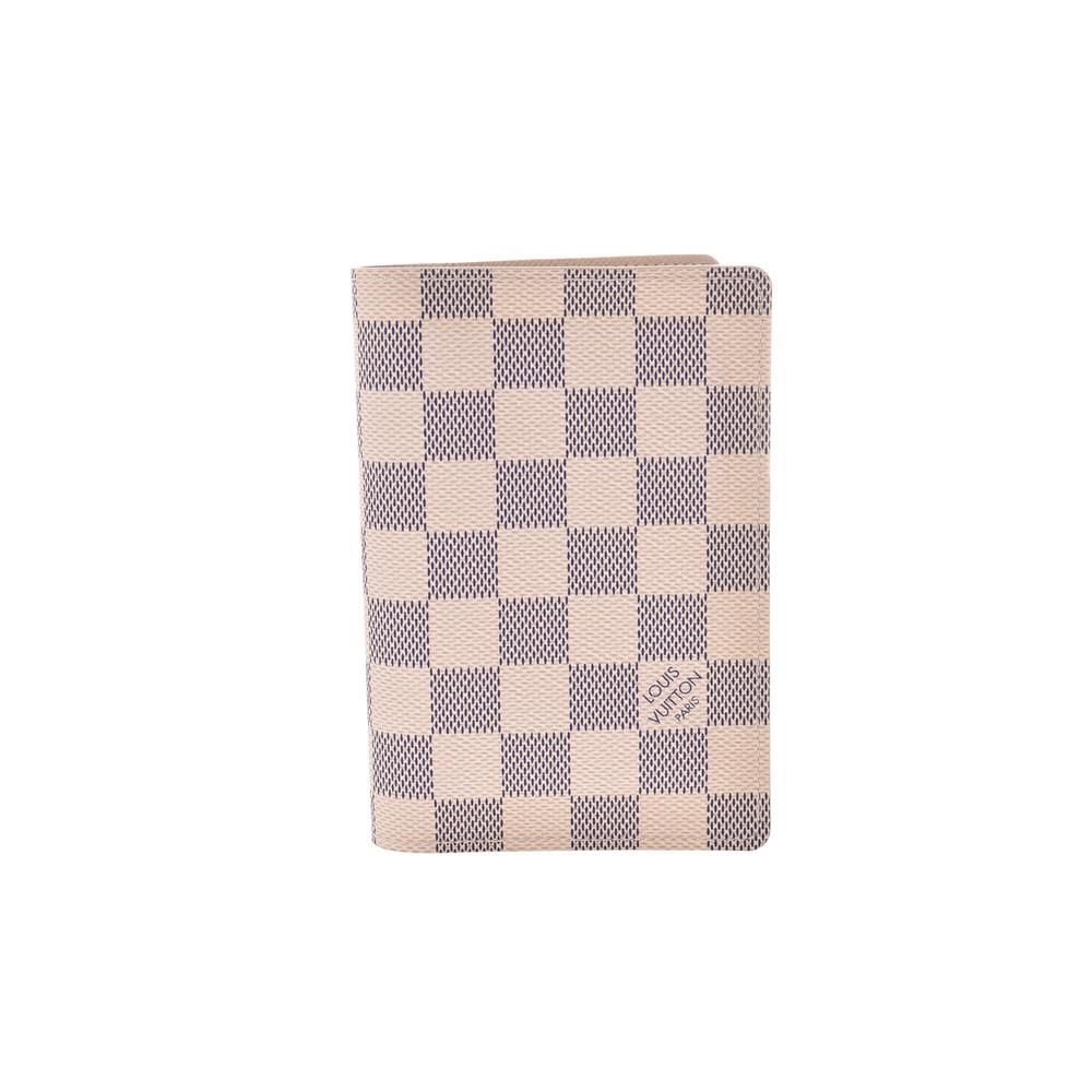 Louis Vuitton Damier Azur N60032 PVC Passport Cover
