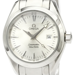 OMEGA Seamaster Aqua Terra Steel Quartz Ladies Watch 2577.30