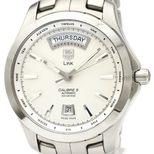 Tag Heuer Link Automatic Stainless Steel Men's Sports Watch WJF2011