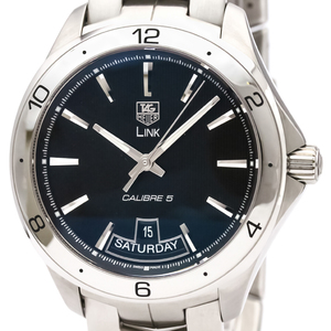 Tag Heuer Link Automatic Stainless Steel Men's Sports Watch WAT2010