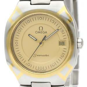 OMEGA Seamaster Polaris 18K Gold Steel Mens Watch 396.1022