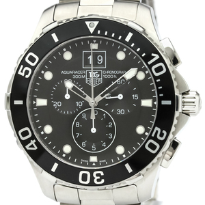 Tag Heuer Aquaracer Quartz Stainless Steel Men's Sports Watch CAN1010
