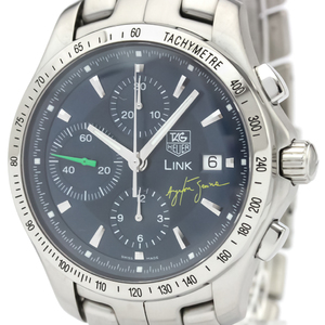 TAG HEUER Link Chronograph Ayrton Senna Limited Watch CJF2113