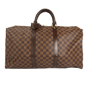 Auth Louis Vuitto Boston Bagn Damier Keepall 50 N41427