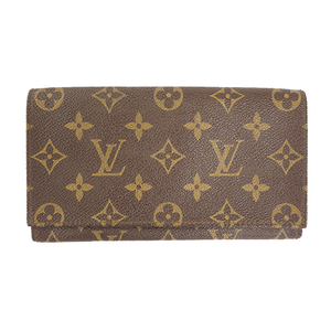 Auth Louis Vuitton Bi-fold Wallet Monogram Men,Women,Unisex