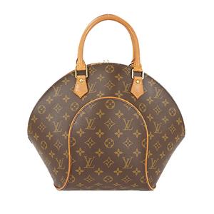 Auth Louis Vuitton Handbag Monogram Ellipse MM M51126