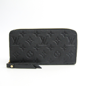 Louis Vuitton Monogram Empreinte M61864 Zippy Wallet Women's Monogram Empreinte Long Wallet (bi-fold) Noir