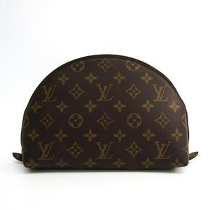 Louis Vuitton Monogram Trousse Demi-Ronde M47520 Women's Pouch Monogram