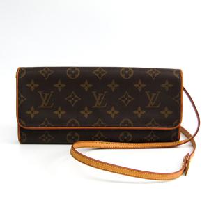 Louis Vuitton Monogram M51852 Pochette Twin GM Women's Shoulder Bag Monogram