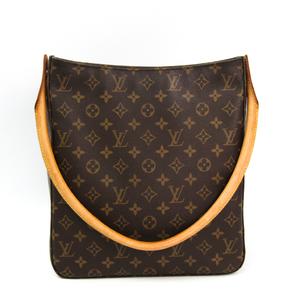 Louis Vuitton Monogram Looping GM M51145 Women's Shoulder Bag Monogram