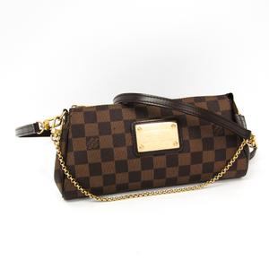 Louis Vuitton Damier Eva N55213 Women's Shoulder Bag Ebene