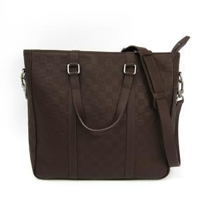 Louis Vuitton Damier Infini Tadao PM N41270 Men's Shoulder Bag,Tote Bag Meteor