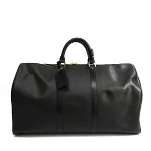 Louis Vuitton Epi Keepall 50 M42962 Women's Boston Bag Noir