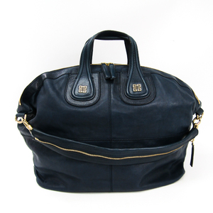 Givenchy Nightingale Nightingale Large Unisex Leather Handbag,Shoulder Bag Navy
