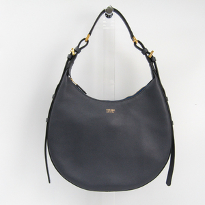 Giorgio Armani Women's Leather Shoulder Bag Gray