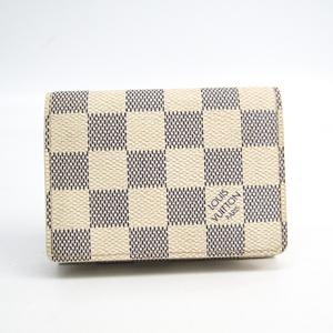 ルイ・ヴィトン(Louis Vuitton) ダミエアズール アンヴェロップ・カルト ドゥ ヴィジット N61746 ダミエアズール 名刺入れ ダミエ・アズール