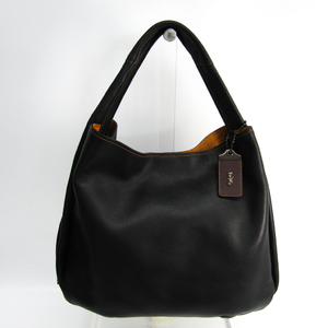 Coach BANDIT HOBO 39 86760 Women's Leather Shoulder Bag Black