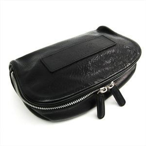 Felisi 860 Unisex Leather Pouch Black